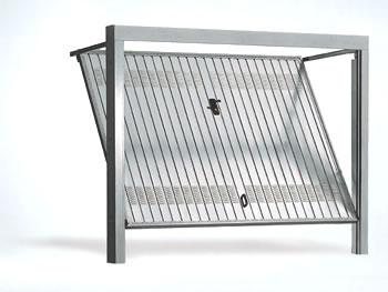 Modello Greppiholdingnet - Porte de garage basculante non debordante